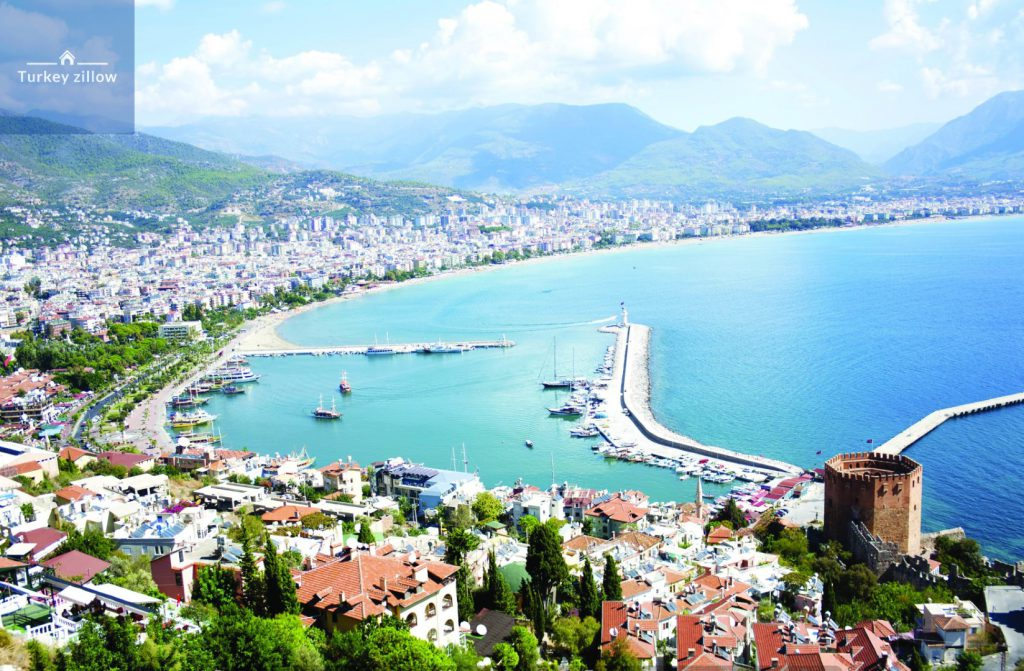خرید خانه در ترکیه آلانیا